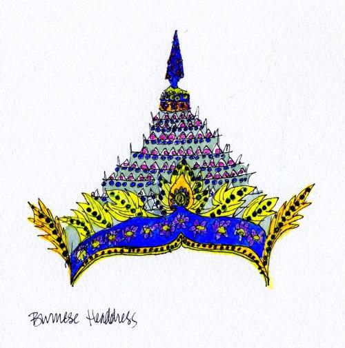 Burmese Headdress